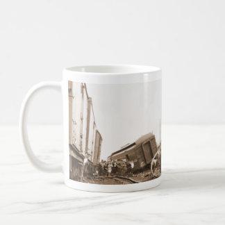 1928 Train Wreck Coffee Mug