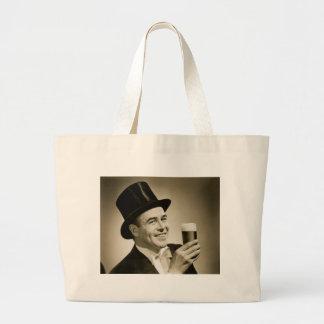 1929 Beer Drinker Tote Bags
