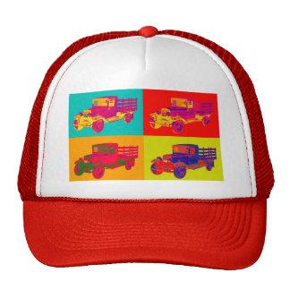 1929 Blue chevy truck 1 ton Pop Art Trucker Hat