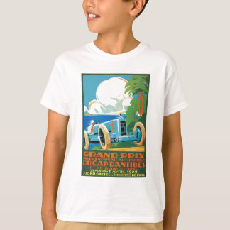 1929 Cap D'Antibes Grand Prix Racing Poster T-Shirt