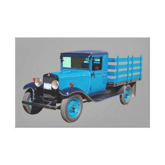 1929 Chevy 1 Ton Stake Body Truck Canvas Print