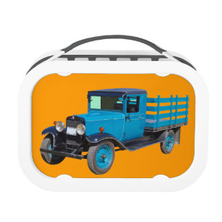 1929 Chevy 1 Ton Stake Body Truck Yubo Lunch Box