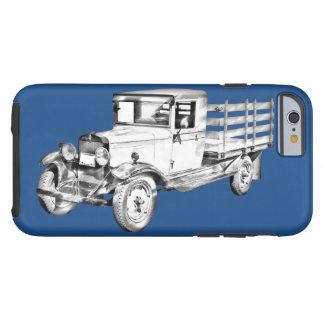 1929 Chevy Truck 1 Ton Stake Body Illustration Tough iPhone 6 Case