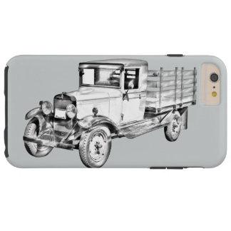 1929 Chevy Truck 1 Ton Stake Body Illustration Tough iPhone 6 Plus Case