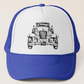 1929 Cord 6-29 Cabriolet Antique Car Illustration Trucker Hat