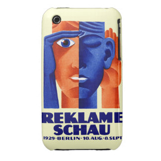 1929 German Advertising Exposition iPhone 3 Cover