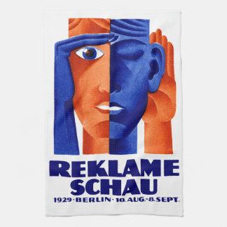 1929 German Advertising Exposition Towels