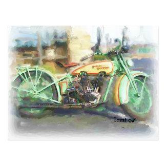 1929 Harley Postcard