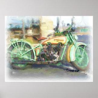 1929 Harley Poster