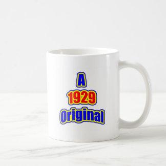 1929 Original Bl Red Coffee Mugs