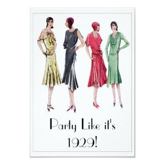1929 Party Invitations