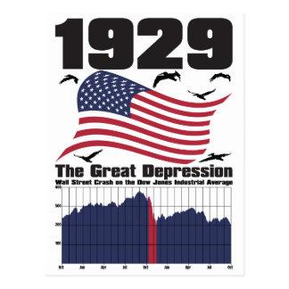 1929 TARJETA POSTAL