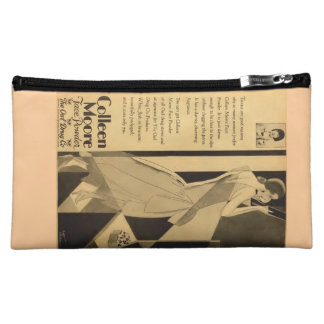 1929 vintage print ad Colleen Moore silent movies Makeup Bags