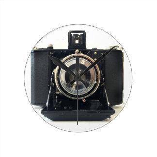 1929 Zeiss Ikon Ikonta Camera Round Clock