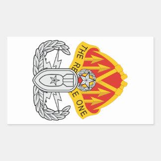 192nd EOD BN Master Rectangular Sticker