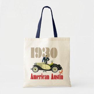 1930 americano Austin Bolsa Tela Barata