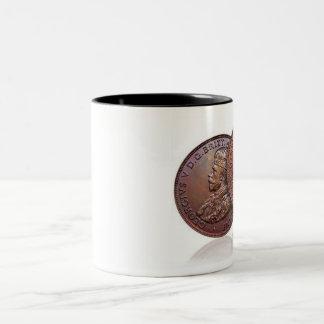 1930 Aussie Penny Two-Tone Coffee Mug