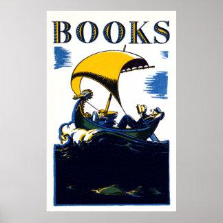 1930 Books Poster