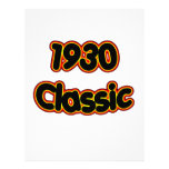 1930 Classic Customized Letterhead