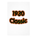 1930 Classic Personalized Stationery
