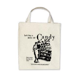 1930 compremos una caja de bolso del caramelo bolsas
