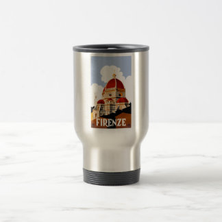 1930 Florence Italy Duomo Travel Poster Travel Mug