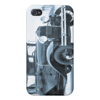 1930 Ford Model A Coupe Cyan iPhone 4 Cover