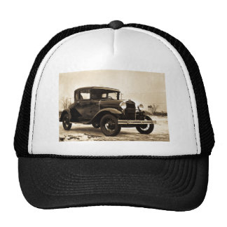 1930 Ford Model A Coupe - Vintage Trucker Hat