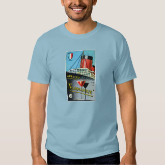 1930 French Apertif Normandie T Shirts