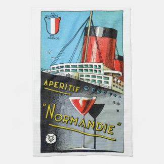 1930 French Apertif Normandie Towels