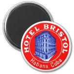 1930 Hotel Bristol Cuba Fridge Magnet