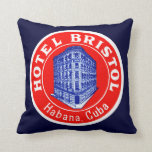 1930 Hotel Bristol Cuba Pillows