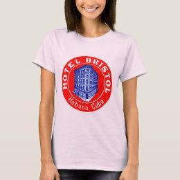 1930 Hotel Bristol Cuba T-Shirt