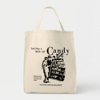 1930 Let's Buy a Box of Candy Bag