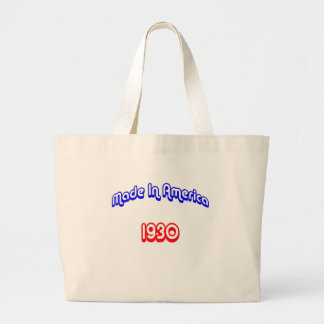 1930 Made In America Large Tote Bag