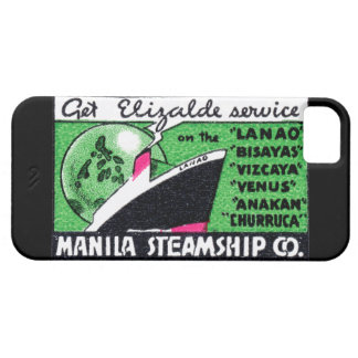 1930 Manila Steamship Company iPhone 5 Cover