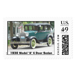 Model a postage stamps zazzle for 1930 model a 4 door sedan