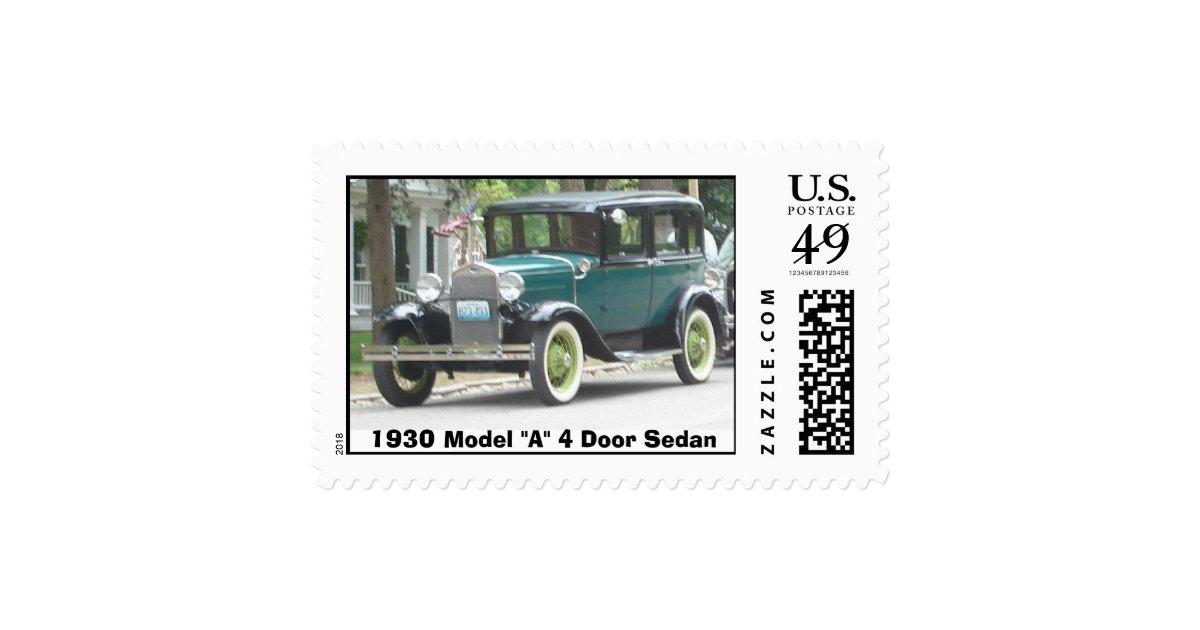 1930 model a 4 door sedan stamp zazzle for 1930 model a 4 door sedan