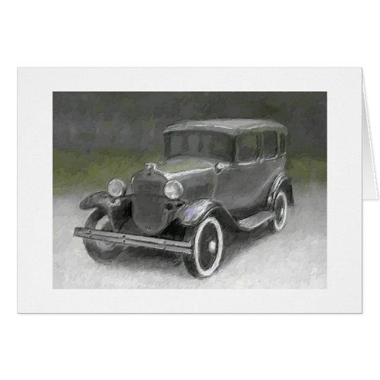 1930 Model A Sedan Card