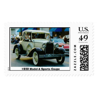 1930 Model-A Sports Coupe Postage