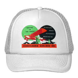 1930 Penn Airlines Poster Hat