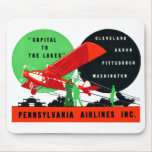 1930 Penn Airlines Poster Mouse Pads