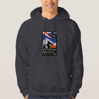 1930 Poznan Expo Poster Hooded Sweatshirt