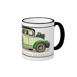 1930 REO Flying Cloud Model 20 Ringer Coffee Mug