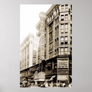 1930 RKO Keith Theater in Boston Poster