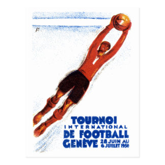 1930 Soccer Tournament Postcard