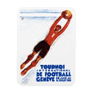 1930 Soccer Tournament Rectangular Magnet