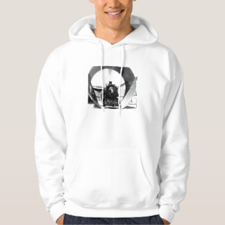 1930 Train inside Nevada Tunnel Pipe Hoodie