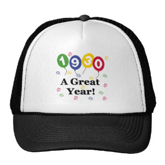 1930 un cumpleaños del gran año gorro