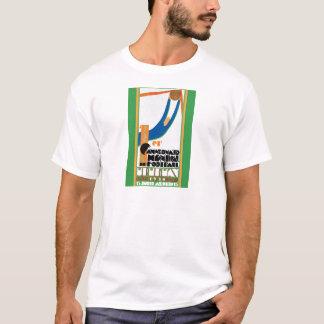 1930 World Cup Football Poster T-Shirt